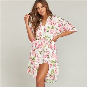 Show Me Your Mumu Brie Robe Floral
